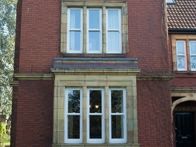 White Sash uPVC