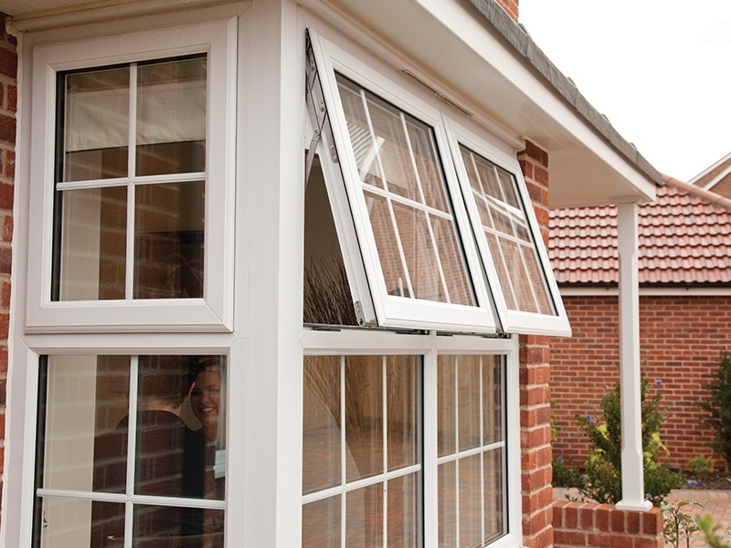 White uPVC Astragal Bars