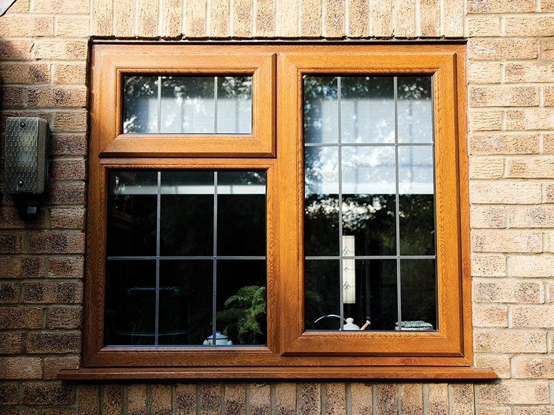 Woodgrain uPVC