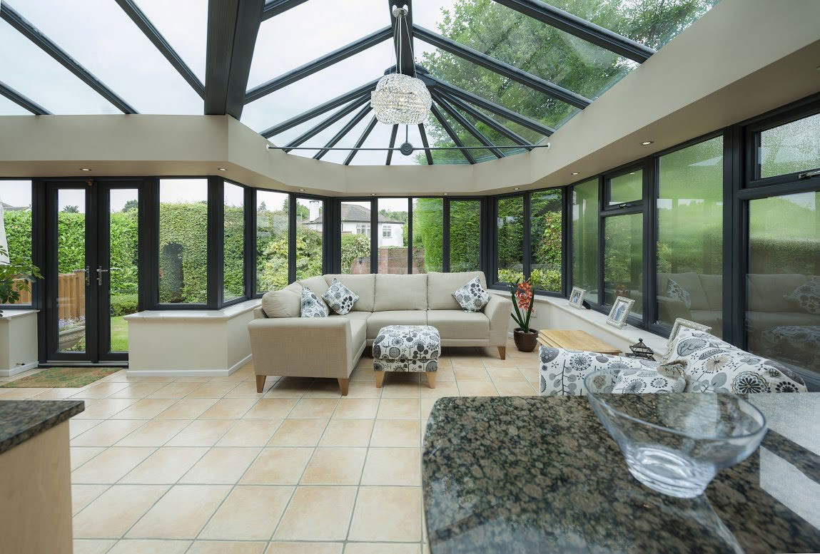 Conservatory Roof Installations in Carmarthenshire