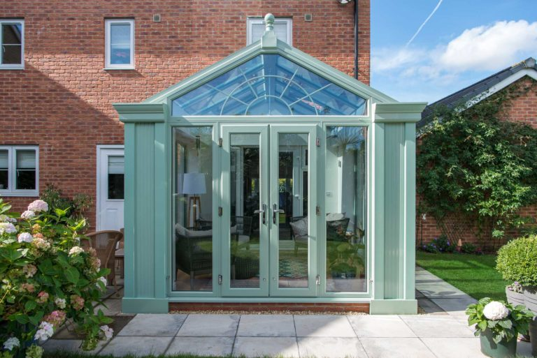 Gable-End Conservatory