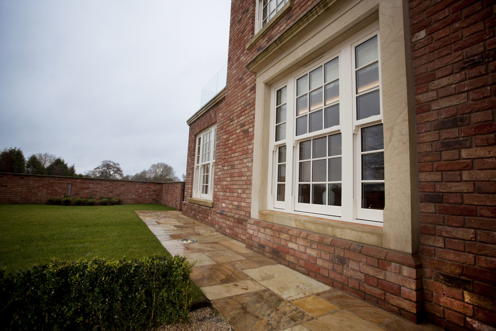uPVC Sliding Sash Window Style Carmarthenshire