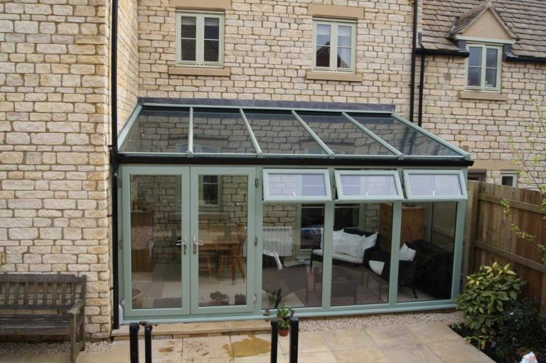 Lean to conservatory LLanelli
