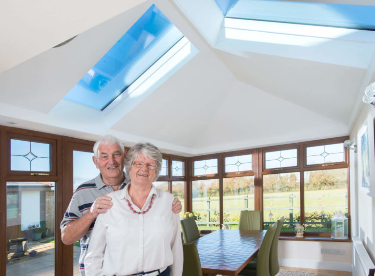 Tiled Conservatory Roof Installation South Wales