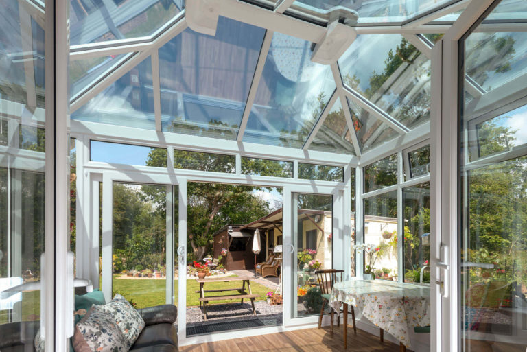 Glass Conservatory Tyla Garw