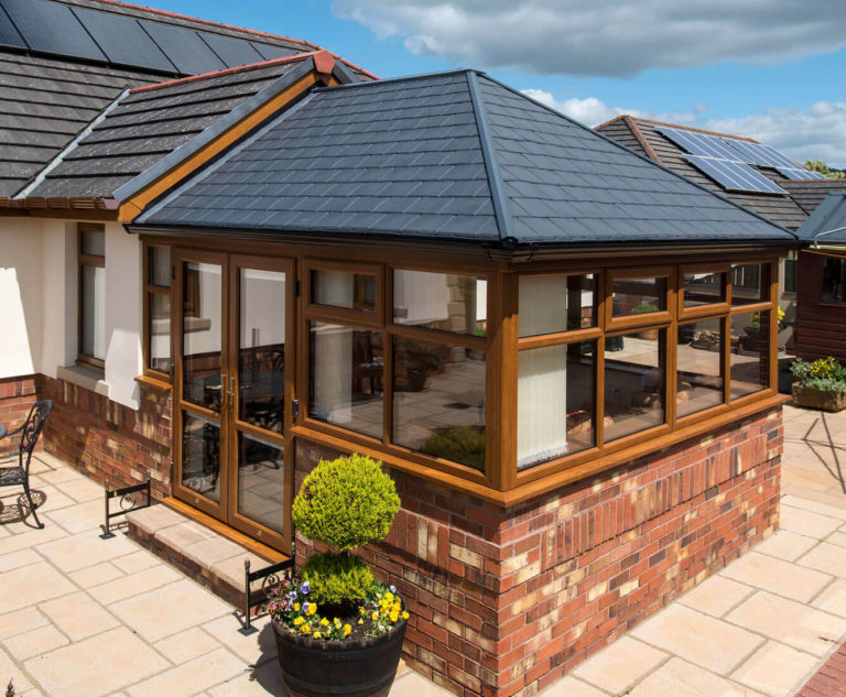 Replacement Conservatory Roof Installation Carmarthenshire
