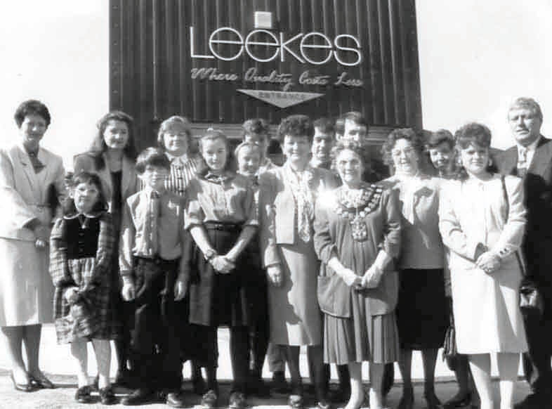 Leekes Through Time