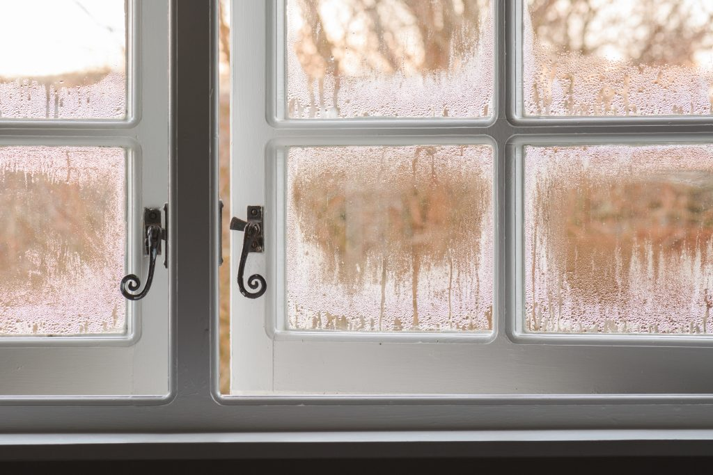 Condensation inside Windows