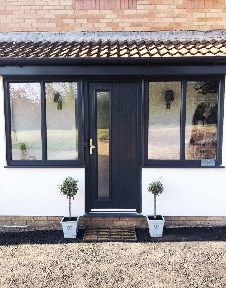 grey composite door Swindon
