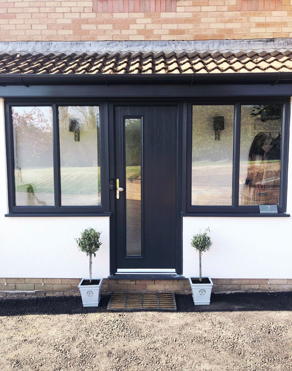 Black uPVC Prices Llandybie