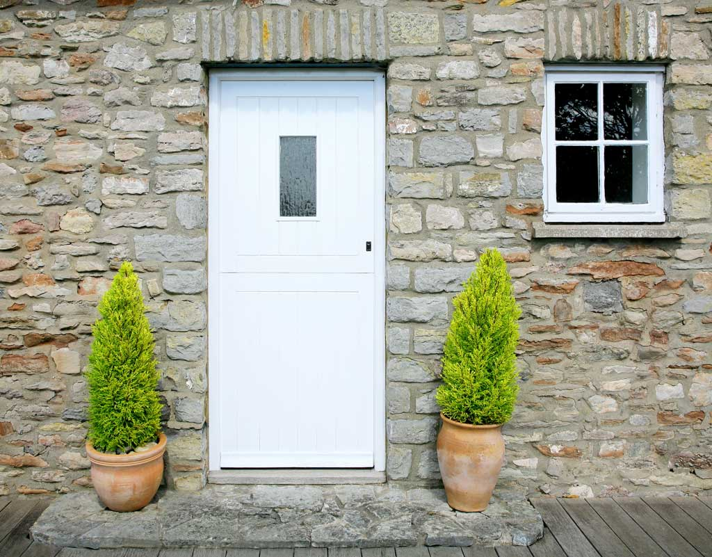 PVC door Carmarthen